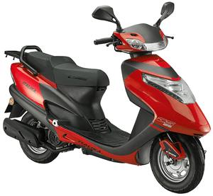 Motoneta Italika Cs125 de 125cc Rojo/Negro