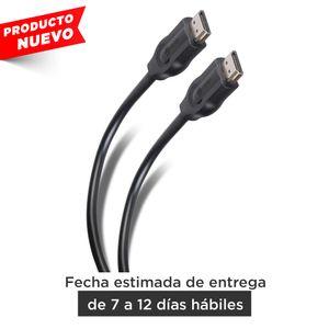 Cable HDMI® con conectores niquelados, de 1,8mts