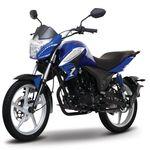 Moto de trabajo Italika 125z de 125cc Negro/Azul