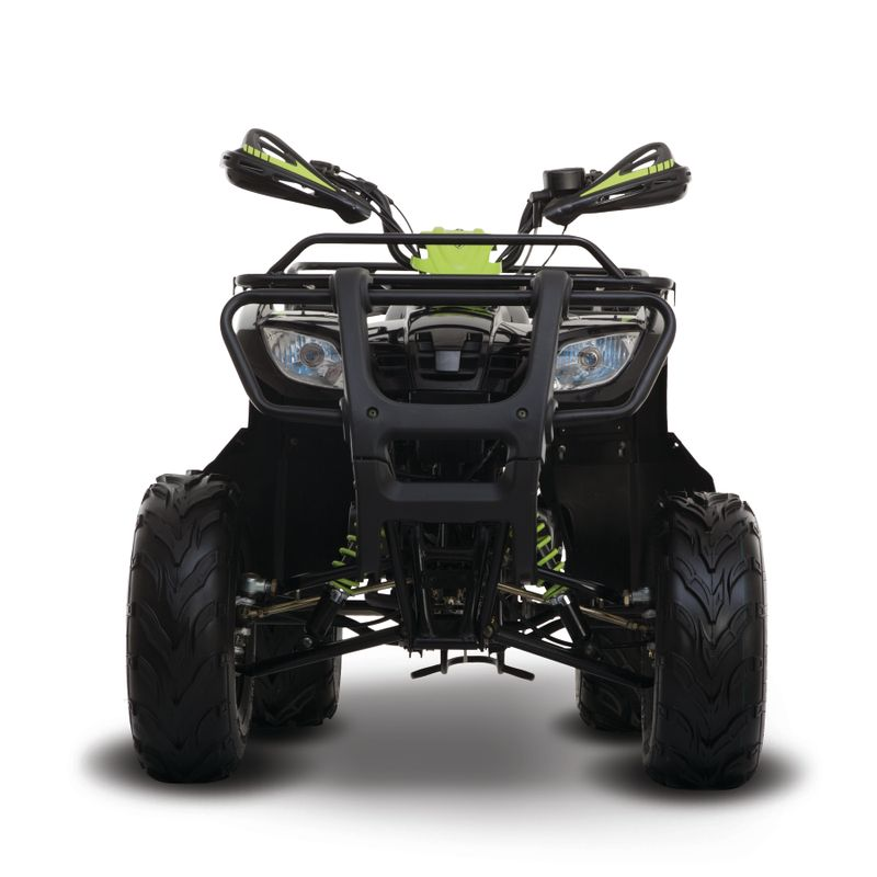 Moto Italika Atv150 Negro/Verde