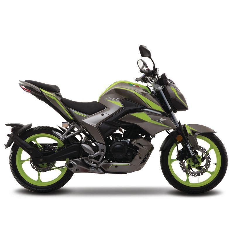 Moto Italika 250z Grafito Verde Urban Sport