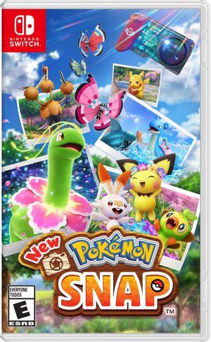 Nintento Switch New Pokemon Snap