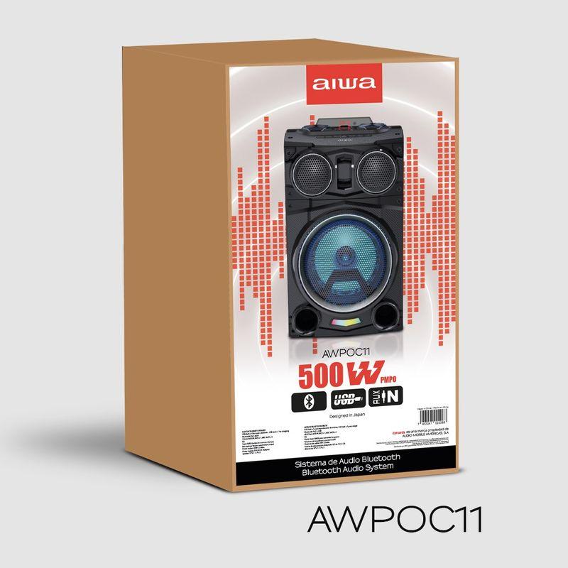 Party-Speaker-Aiwa-500W-AWPOC11