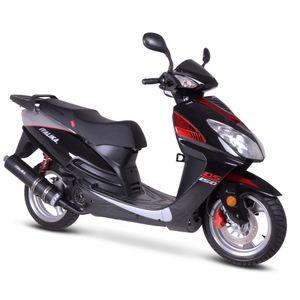 Motoneta Italika Ds150 de 150cc Negro/Rojo