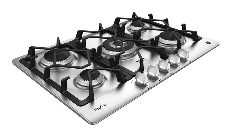 Cooktop-General-Electric-a-Gas-PGP75TI0