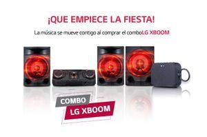 Minicomponente Xboom LG CL88+