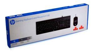 Kit Teclado y Mouse HP KM100