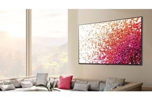 Televisor Smart 4K LG Nanocell de 55 pulgadas 55NANO75SPA
