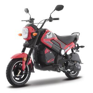 Moto de trabajo Italika BIT150 de 150cc Rojo/Negro