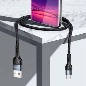 Cable de carga Nylon Trenzado Usams tipo Micro-USB 1mt