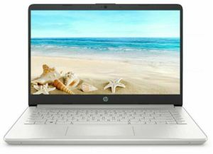 "Laptop HP 14"" 14-DQ2055 Core i3 4GB 256GB Silver"
