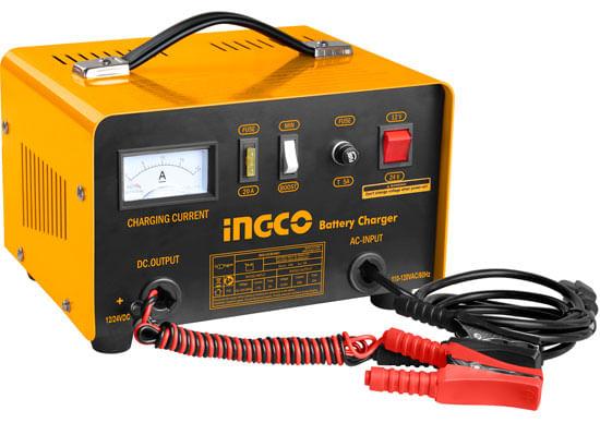 Cargador de Baterías Ingco de 12-24V - 32-150A UCB1601