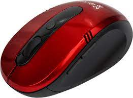 Mouse óptico inalámbrico Vector Klip Xtreme Rojo KMW-330RD