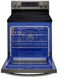 Estufa eléctrica  LG LREL6325D de 30 pulgadas con sistema Insta View e Air Fry