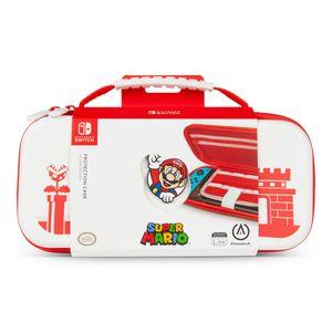 Funda para Nintendo Switch de Mario Bros Blanca