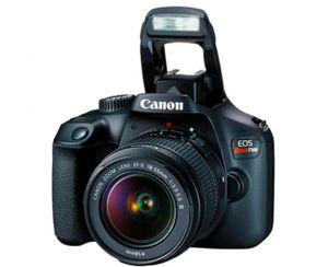Cámara Canon Rebel T100 18-55mm Kit Premium